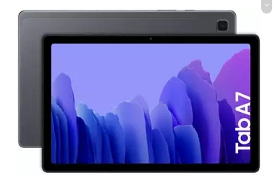 "Tablet - Samsung Galaxy Tab A7, WiFi, Negro, 10.4"", WUXGA, 3 GB, 32 GB, Octa-Core, Android"