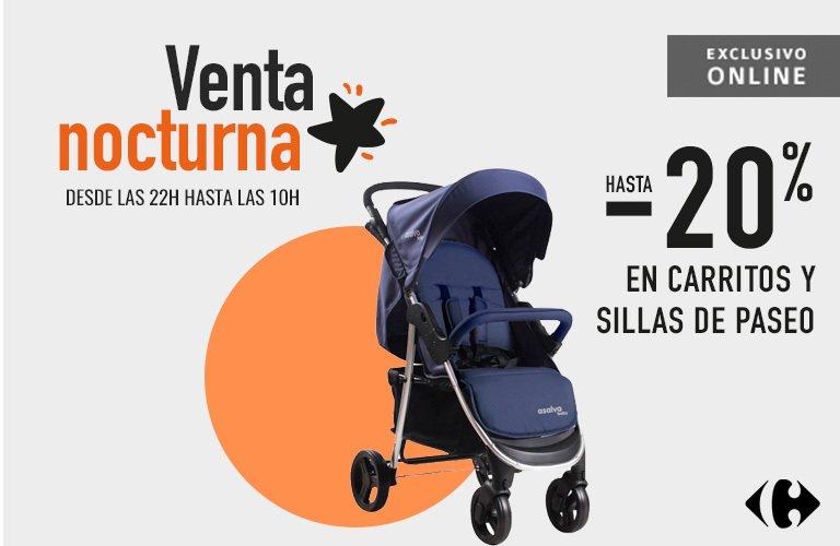 Oferta ventas nocturnas Carrefour