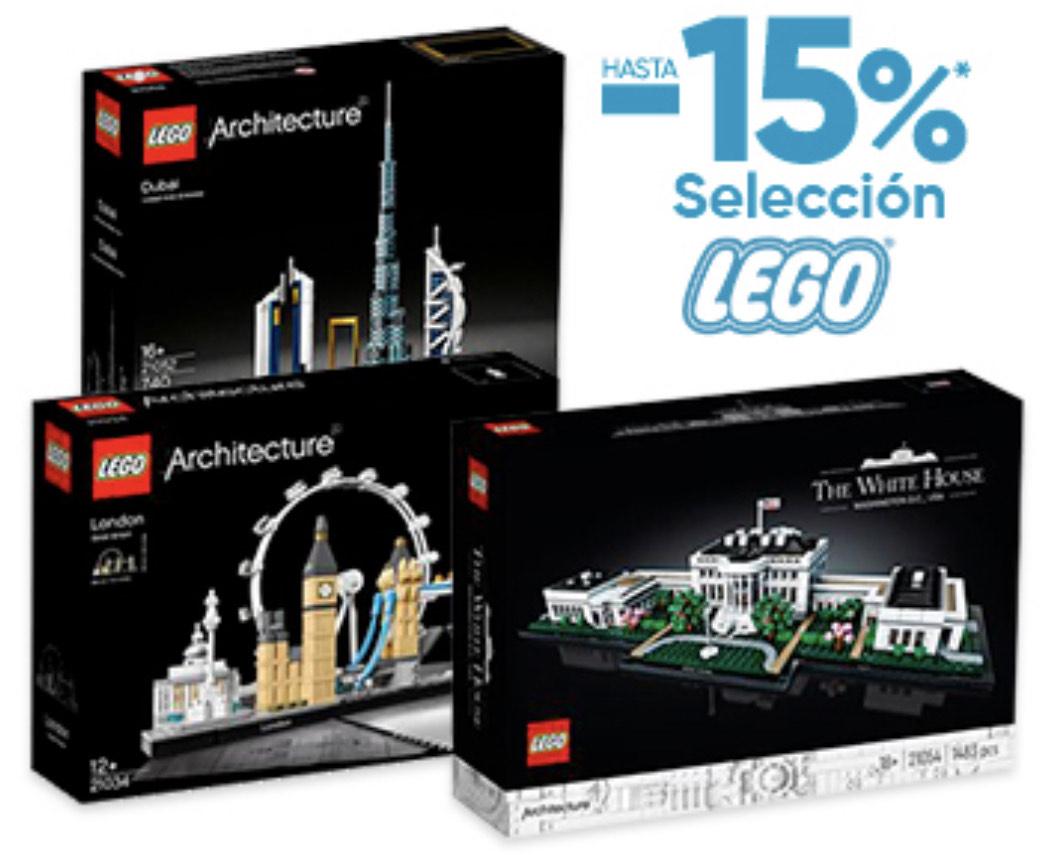 Arquitecturas Lego hasta -15%