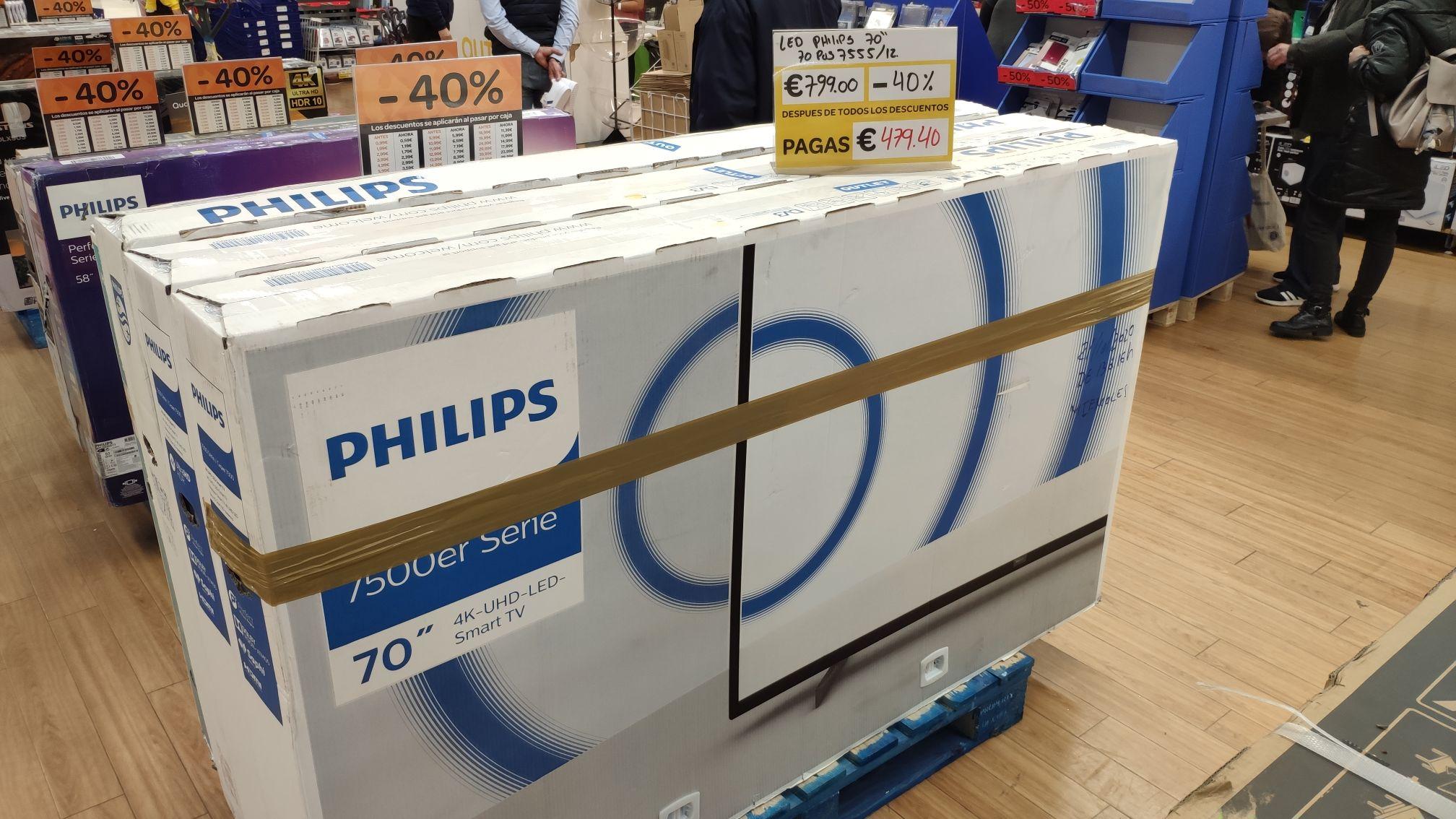 Philips 70PUS7555/12 en Villaverde Ciudad de los Ángeles