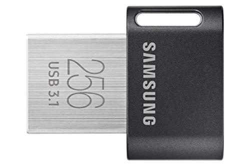 Samsung USB 256 GB USB tipo A 3.2 Gen 1 (3.1 Gen 1) Gris, Plata