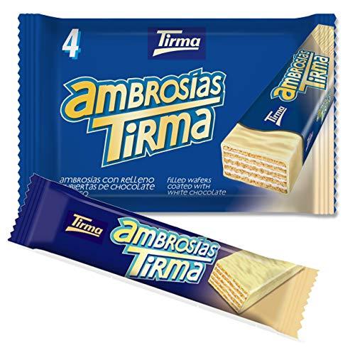 Tirma Ambrosías chocolate blanco, 4 x 21'5g