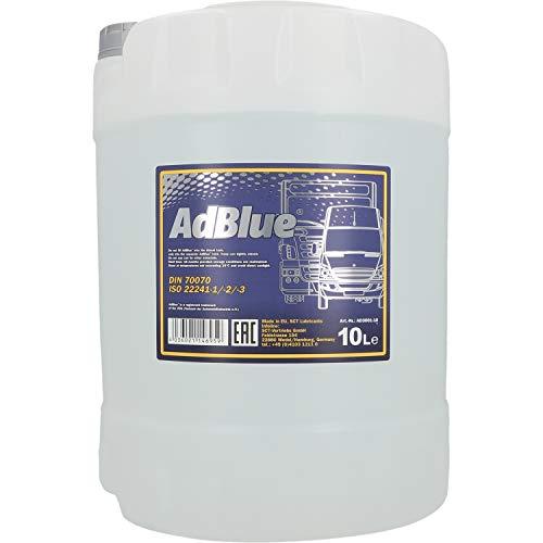 ADBLUE 10 L. Tratamiento de Gases de Escape para Automóviles y Camiones
