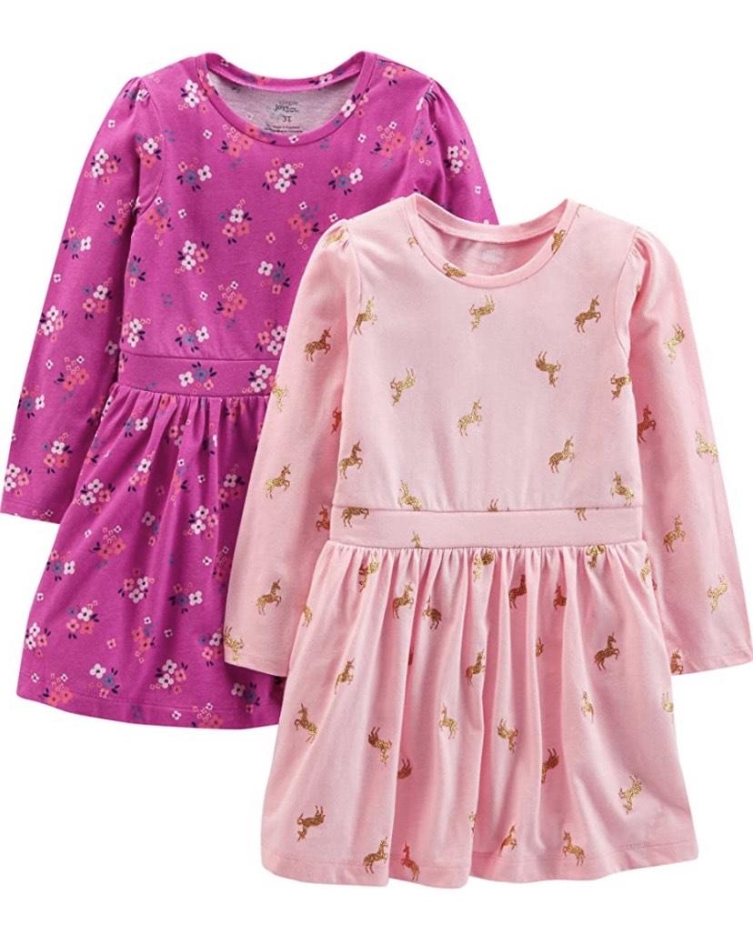 Talla 2 años pack de 2 vestidos Joys by Carter's
