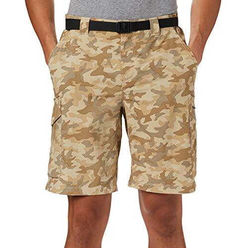 COLUMBIA Pantalon corto cargo camuflaje