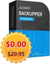AOMEI regala 1 año de AOMEI Backupper Pro y otros software
