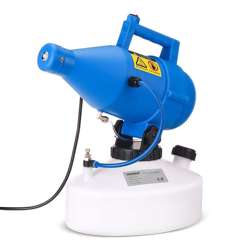 Minleaf 110V / 220V 60HZ / 50HZ 5L Portátil Eléctrico ULV Nebulizador de flujo