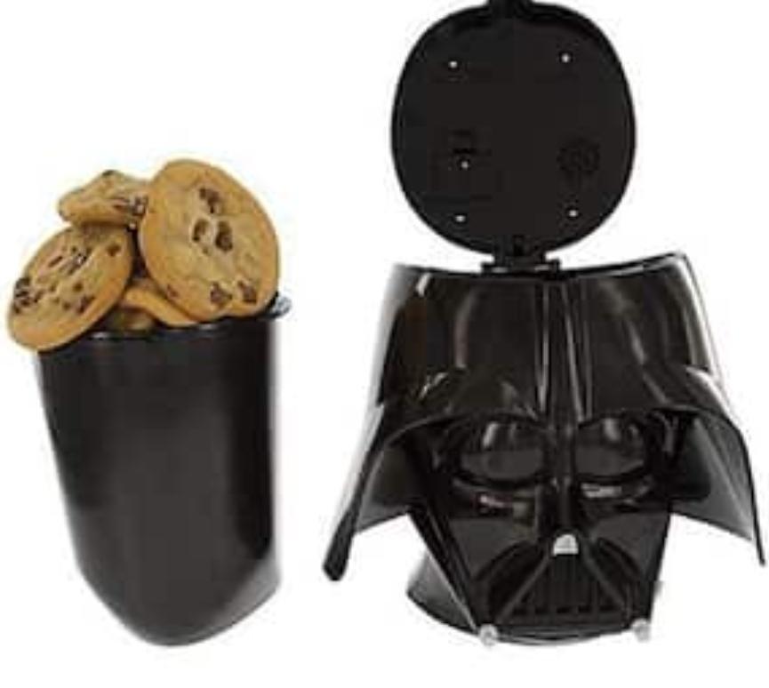 Cofre esconde galletas o lo que quieras en la cabeza de Darth Vader SONORO