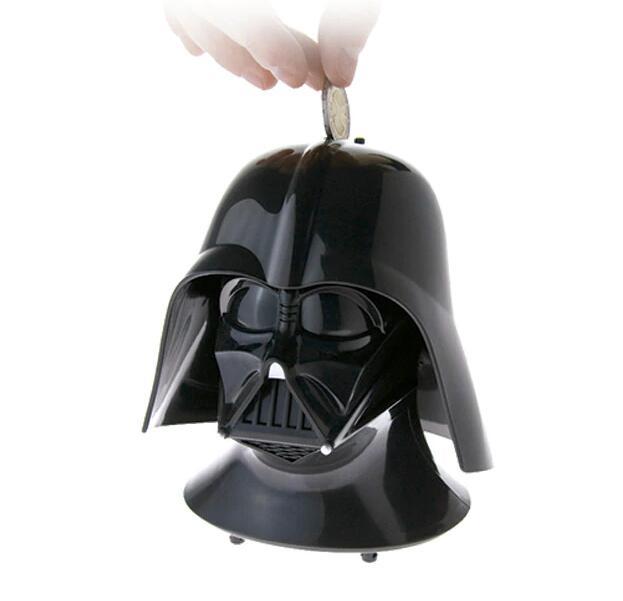 Hucha con sonidos Darth Vader Star Wars