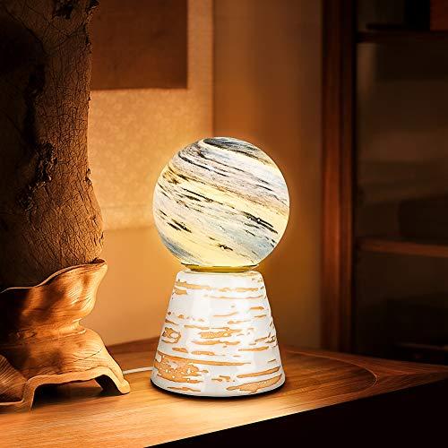 Lámpara de luna impresa en 3D, galáctica de carga USB, cálida de luna romántica, decoración de interiores