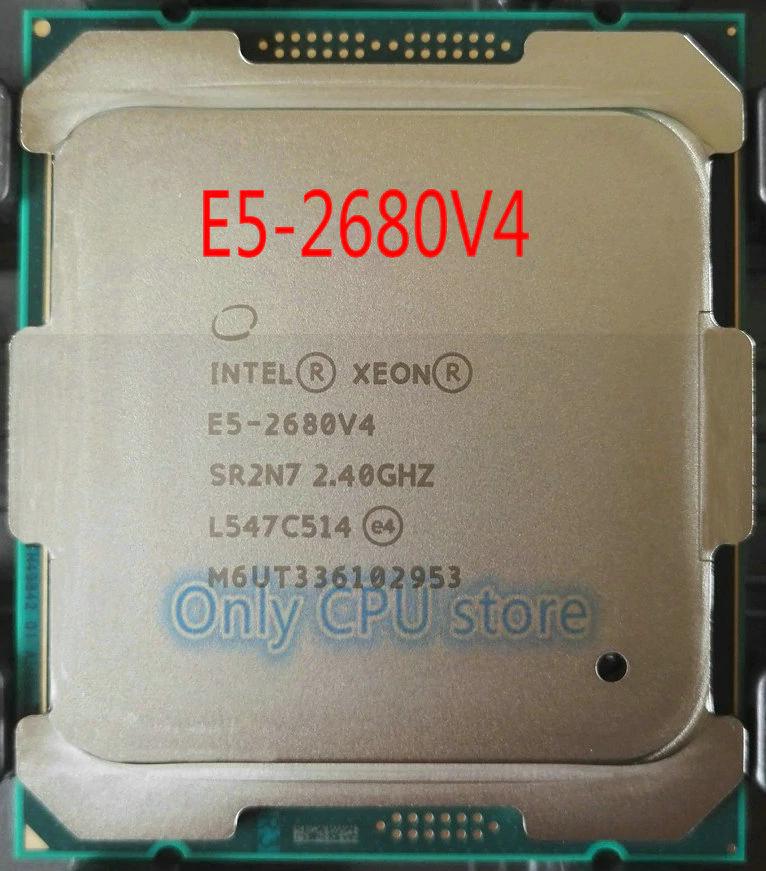 Procesador Intel E5-2680 v4 14/28 Turbo a 3,30 GHz para placas x99