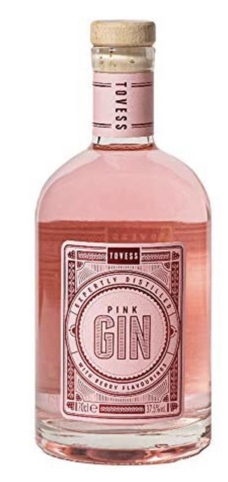 Tovess Ginebra Rosa - 700 ml