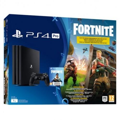 Sony PlayStation 4 Pro 1Tb + Fortnite por 369€