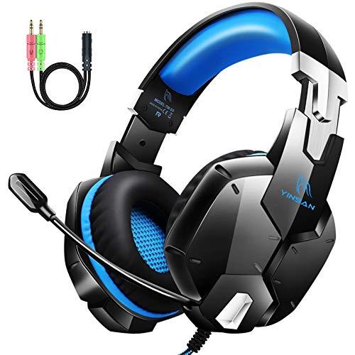 Auriculares Gaming con Micrófono, 3D Sonido y Reducción de Ruido