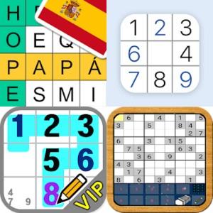 3 Sudoku y 1 Crucigrama Gratis [ANDROID]