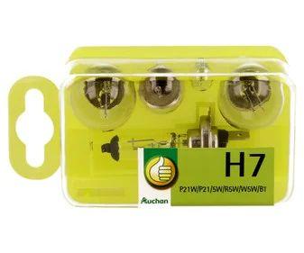 5 piezas alumbrado H7 Coche