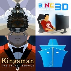 Apps Gratis - Business Inc. 3D, Symmetrain, MarineTraffic, Rogue Hearts [IOS]
