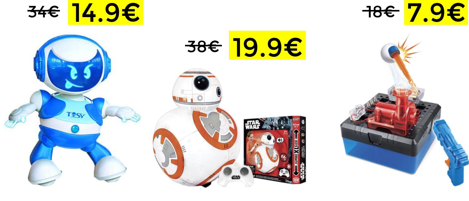 Preciazos en selección juguetes electrónicos