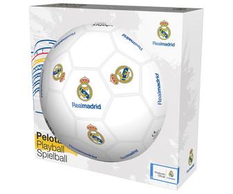 Balón de fútbol del Real Madrid (Licencia Oficial) por sólo 1,50€ (Alcampo Marbella)