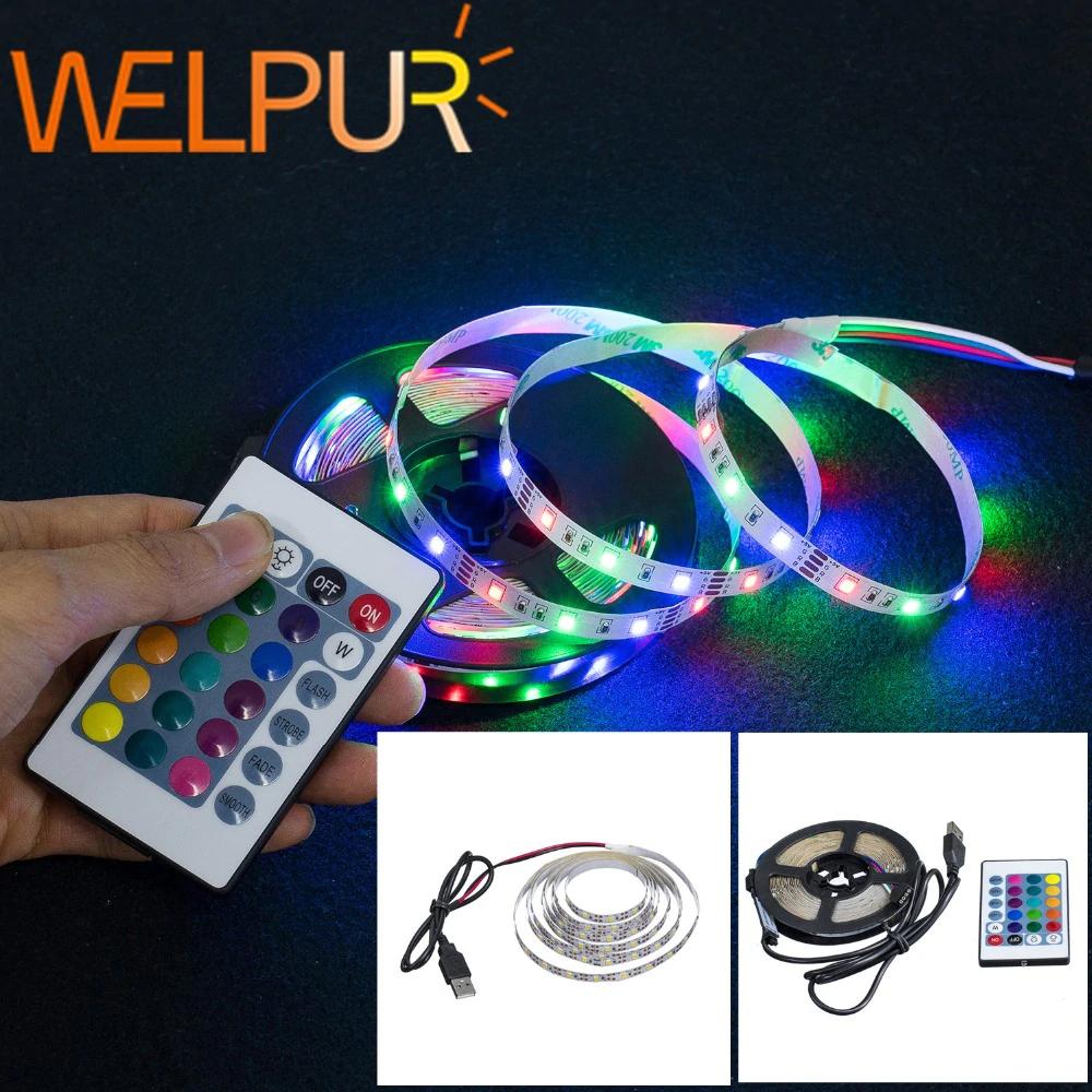 Tira de luces LED USB 2835SMD con Mando