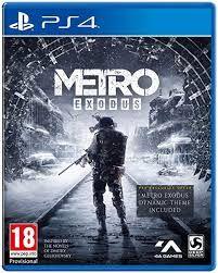 Metro Exodus PS4 FÍSICO