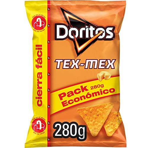 Doritos Tex-Mex 280 g - Sabor a Queso