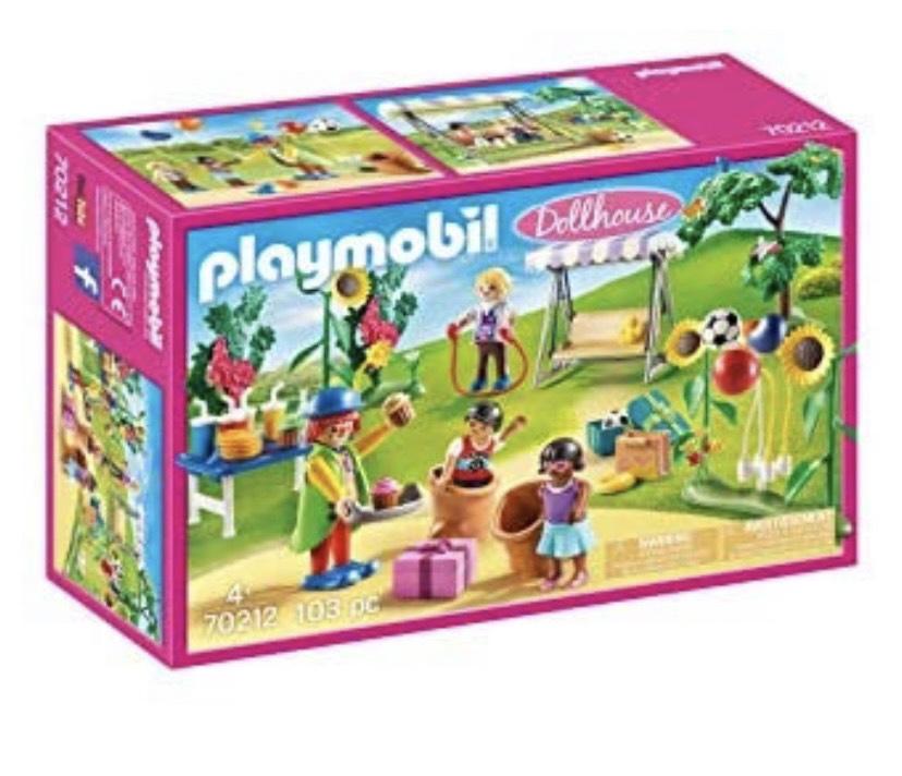 PLAYMOBIL Dollhouse 70212 Fiesta de Cumpleaños Infantil