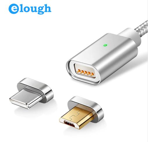 Cable USB / USB C Magnético Trenzado [Carga Rápida]