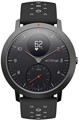 Withings Steel HR Sport - Reloj inteligente híbrido multideporte con GPS
