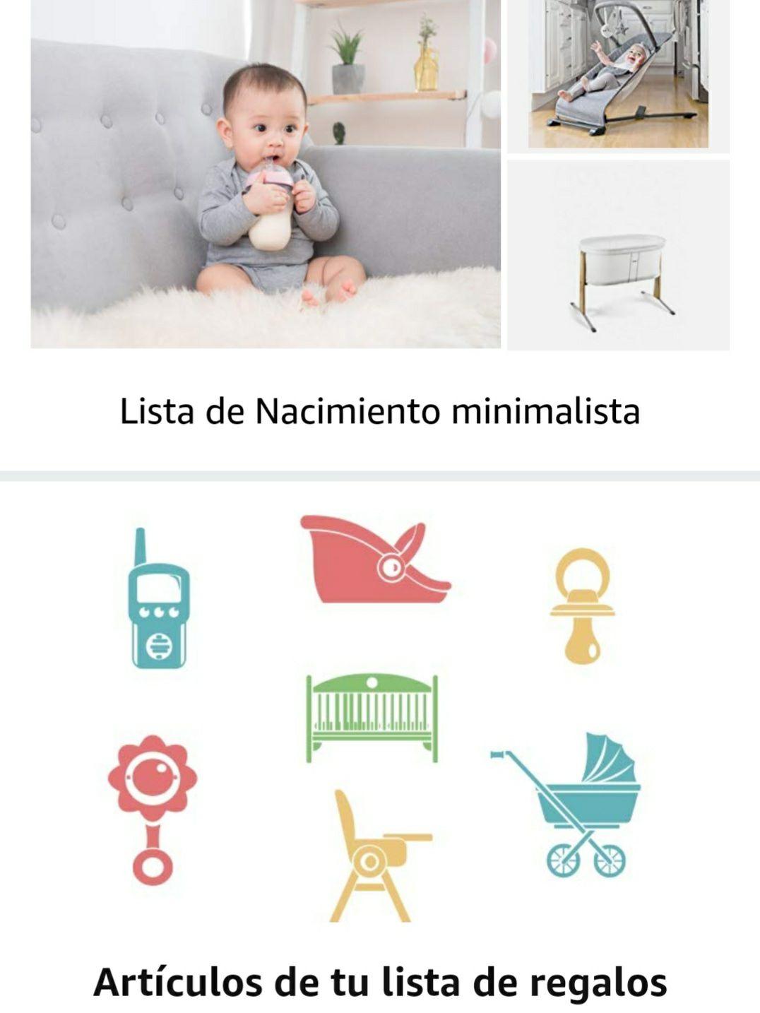 -15% Dto en Artículos de Bebe (Amazon)