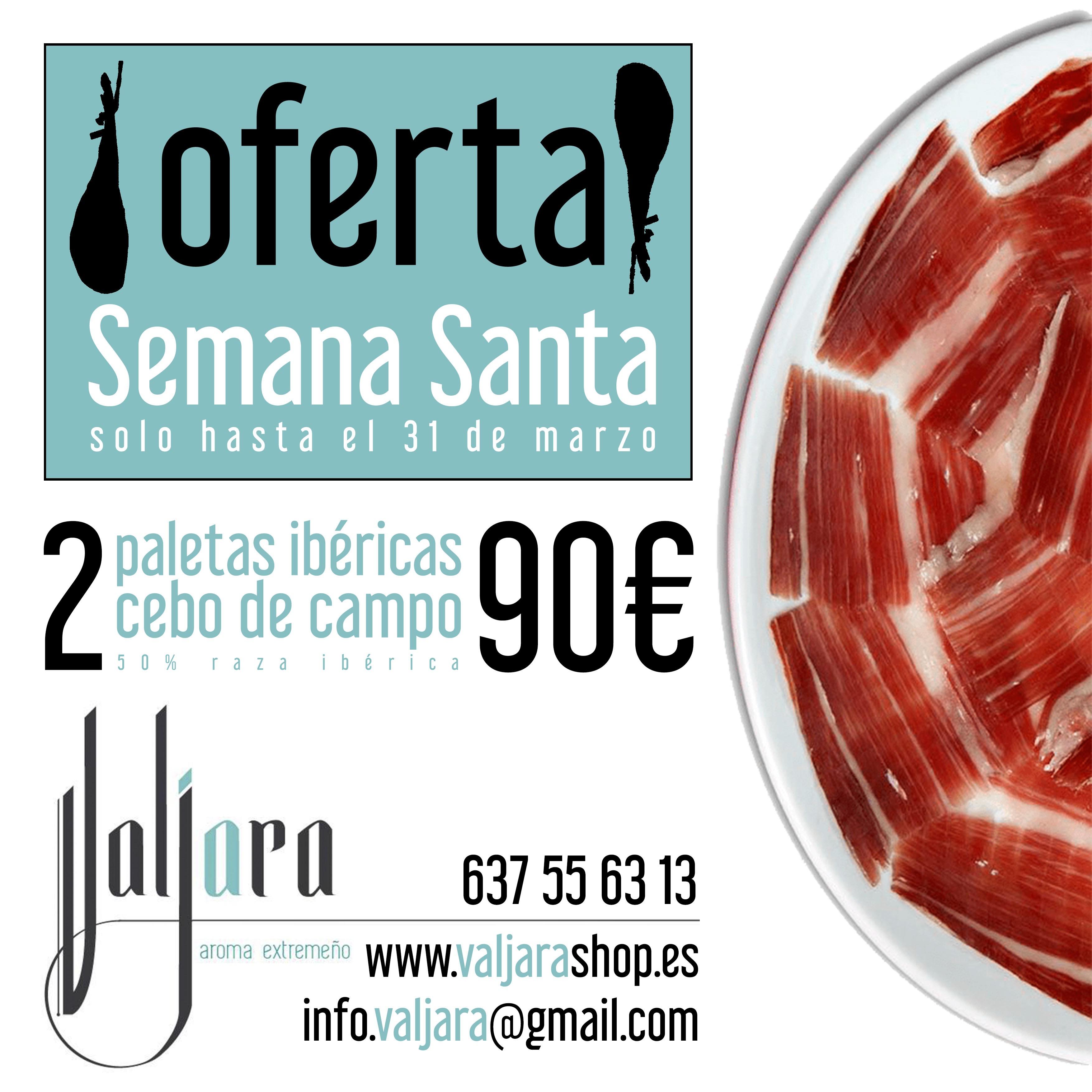 2 Paletas de Cebo de Campo Extremadura 90€