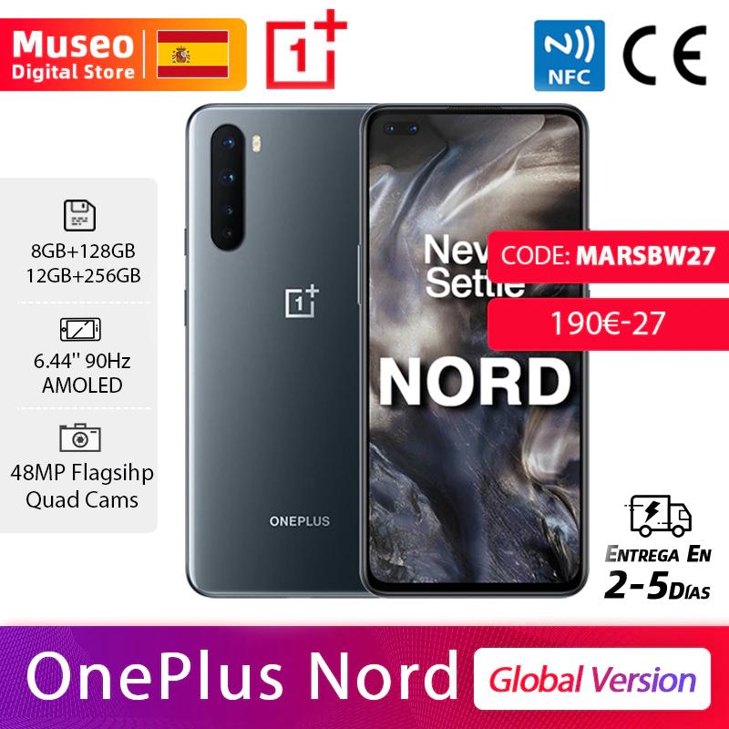Oneplus Nord, Versión Global, 8GB/128