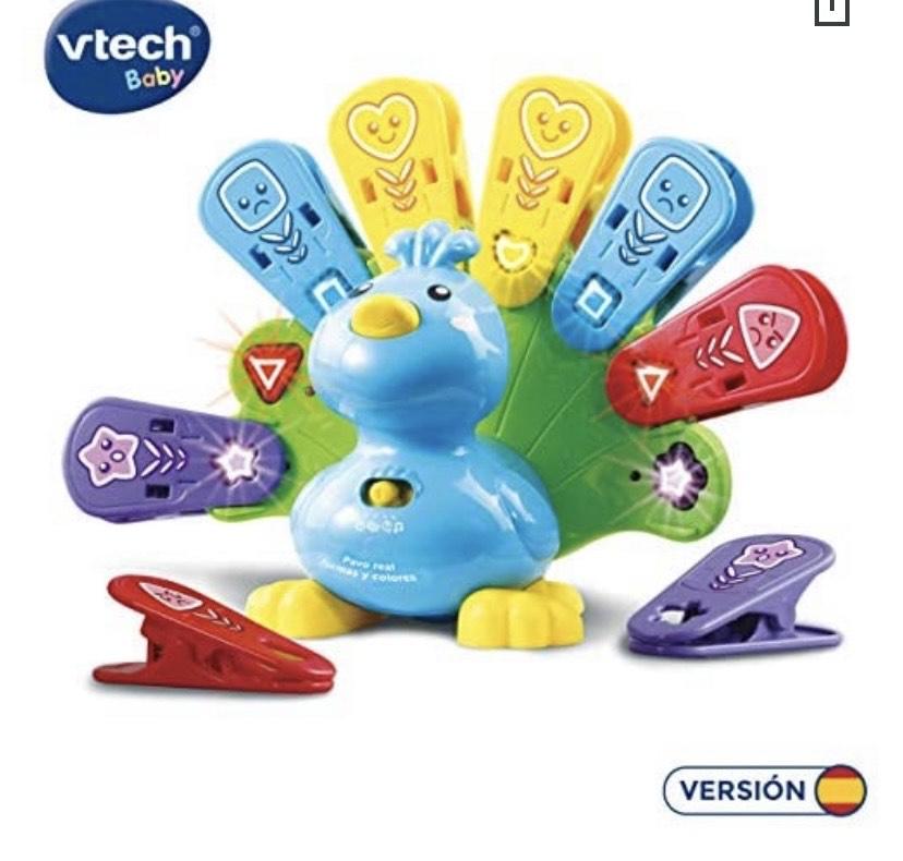 VTech- Pavo Real Formas y Colores
