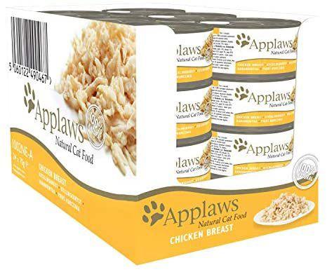 Comida para gatos Applaws, pack 24 latas 70g.(pechuga de pollo)