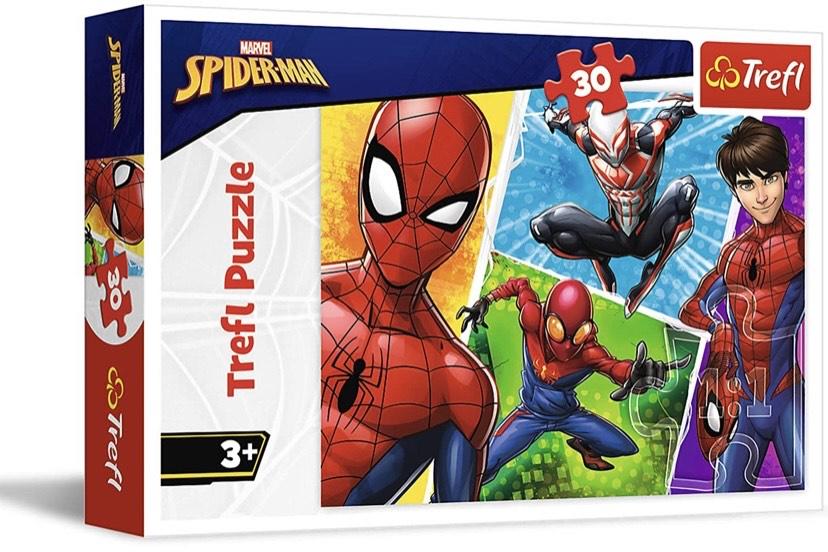 Puzzle compuesto de 30 piezas Spiderman