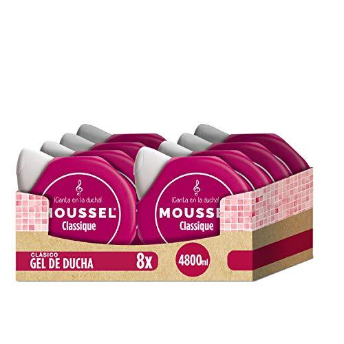 Moussel Gel líquido 8 x 600 ml - Total: 4800 ml