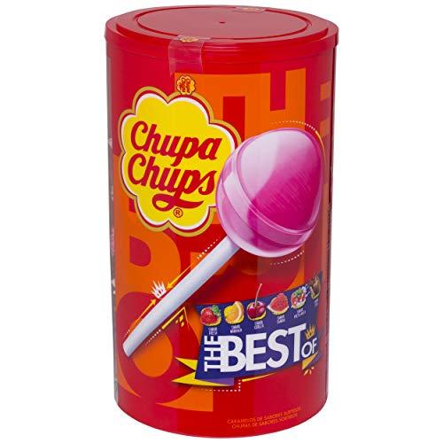 100 Chupa Chups Original de Sabores Variados (Total 1.200 gr.)