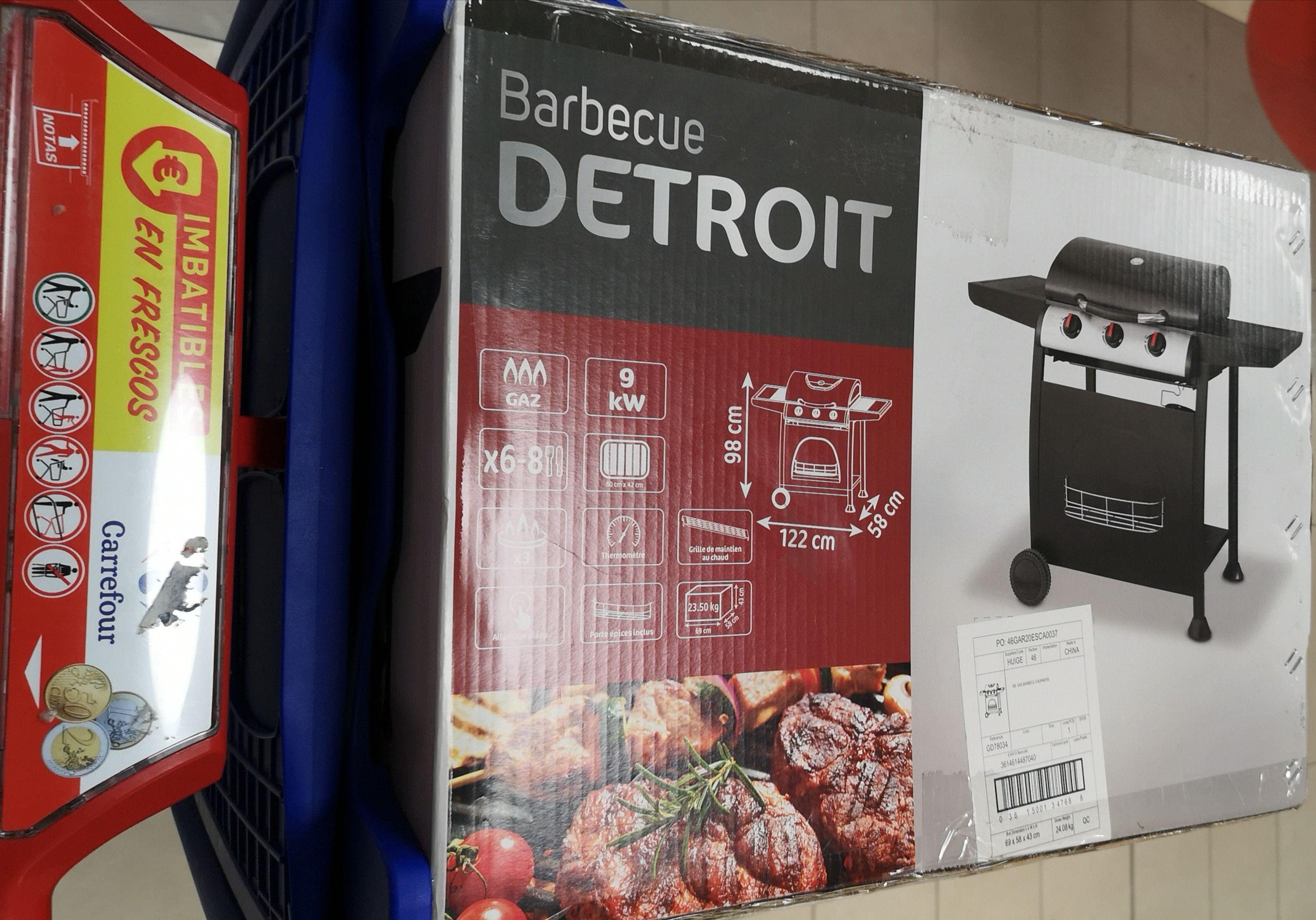 Barbacoa Detroit Carrefour