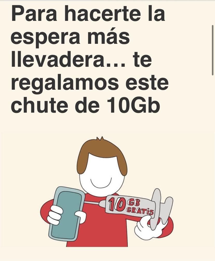 10 GB gratis para cada línea de Lowi