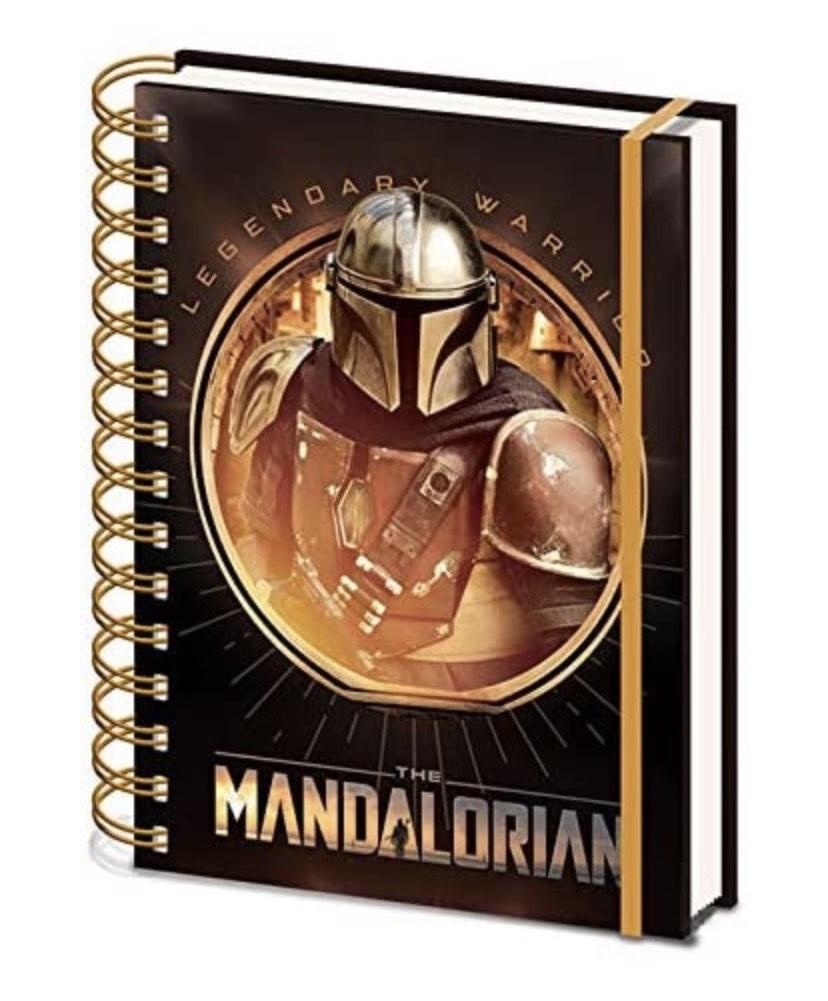 Cuaderno de notas A5 en espiral the Mandalorian