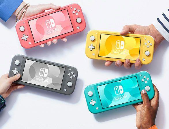 Nintendo Switch Lite (En todos los Colores)