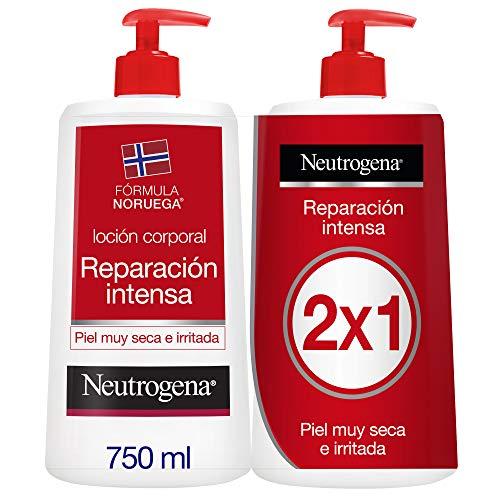 Pack Neutrogena Loción Corporal Reparación Intensa, Piel Seca, 2x750ml