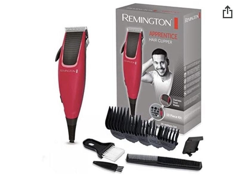 Remington HC5018 Apprentice - Kit Máquina de Cortar Pelo y 10 Piezas