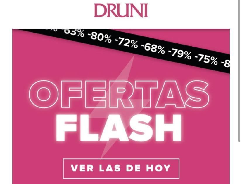 Ofertas flash Druni hoy