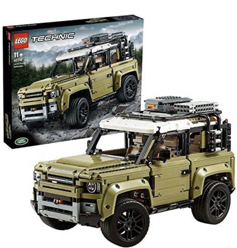 LEGO Technic - Land Rover Defender, Juguete de Construcción de Coche 4x4, Maqueta del Nuevo Modelo de Todoterreno