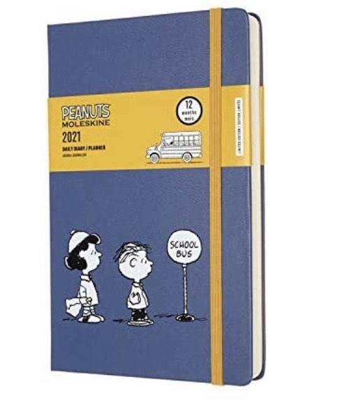 Agenda diaria Moleskine - Peanuts Edición Limitada Lucy y Linus,