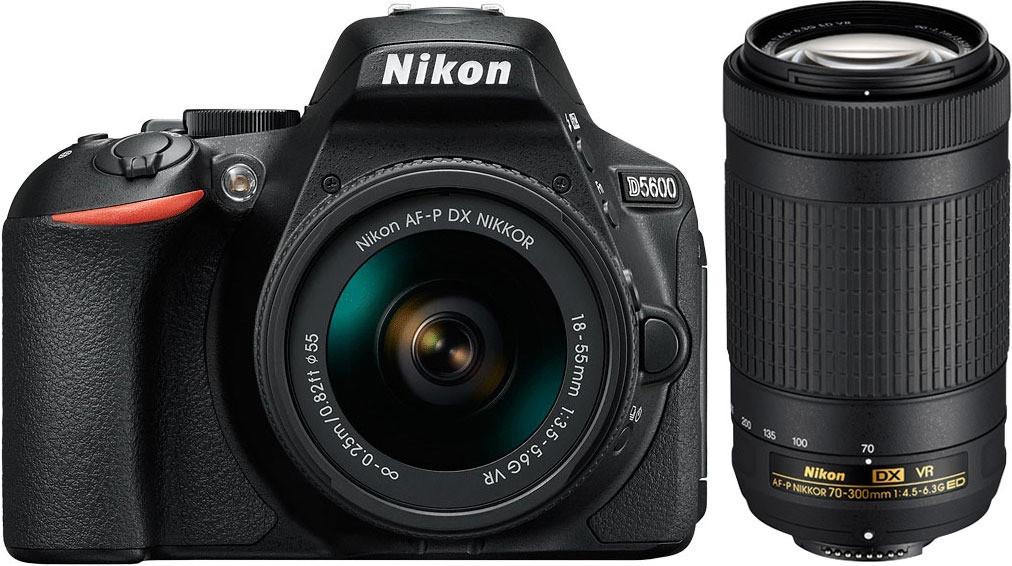 Kit Nikon D5600 18-55mm y 70-300mm