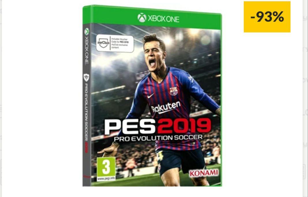Juego Xbox One PES 2019