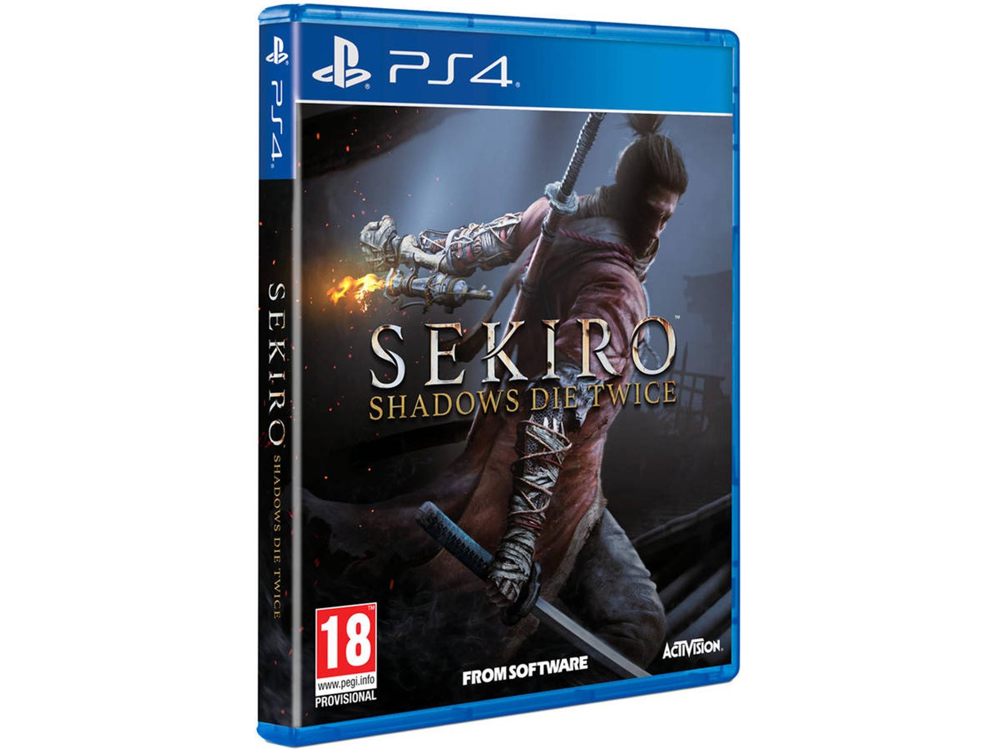 Sekiro Shadows Die twice (PS4) en Worten