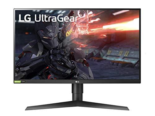 """Monitor IPS LG 27"""" UltraGear WQHD 144Hz G-Sync"""